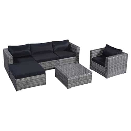 13tlg lounge set gartenmoebel. Black Bedroom Furniture Sets. Home Design Ideas