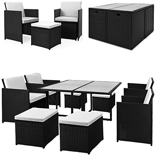 gartenm bel set rattan 21tlg gartenmoebel. Black Bedroom Furniture Sets. Home Design Ideas