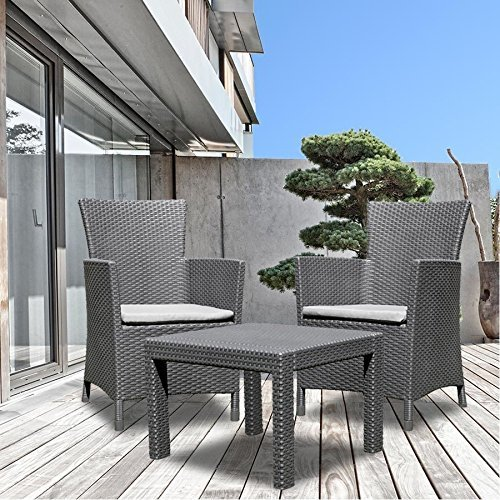allibert balkon sitzgruppe utah graphit balkonm bel rattanm bel gartenm bel neu gartenmoebel. Black Bedroom Furniture Sets. Home Design Ideas