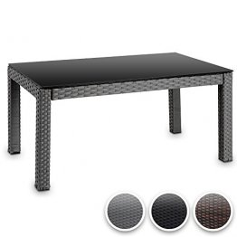 rattan tisch gartenmoebel test testsieger. Black Bedroom Furniture Sets. Home Design Ideas