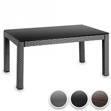 rattan tisch hochwertig gartenmoebel. Black Bedroom Furniture Sets. Home Design Ideas