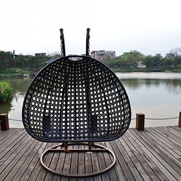 h ngesessel rattan home deluxe gartenmoebel. Black Bedroom Furniture Sets. Home Design Ideas