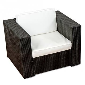xinro 19tlg xxxl polyrattan gartenmoebel lounge sofa guenstig lounge. Black Bedroom Furniture Sets. Home Design Ideas