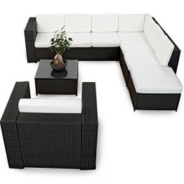 rattan lounge set gartenmoebel kaufen test tipps. Black Bedroom Furniture Sets. Home Design Ideas