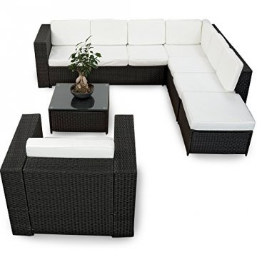 xinro 23tlg gartenmoebel. Black Bedroom Furniture Sets. Home Design Ideas